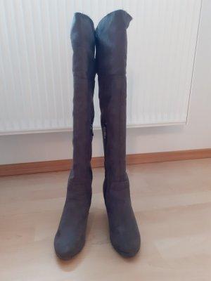 Tamaris Botas sobre la rodilla gris