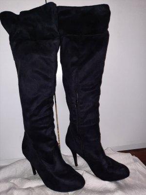 Bodyflirt Kniehoge laarzen zwart