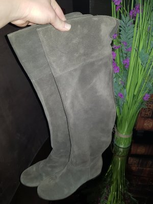 Slouch Boots taupe-grey brown