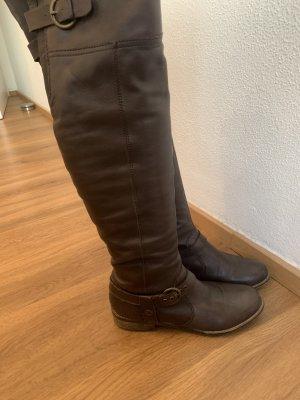 Overknees Braune Stiefel