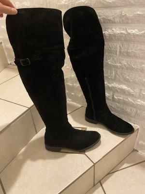 Tamaris Botas sobre la rodilla negro