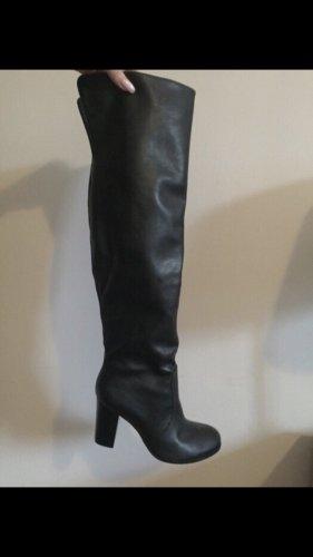 Arezzo Kniehoge laarzen zwart