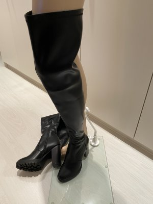Even & Odd Botas sobre la rodilla negro