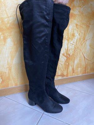 H&M Stivale cuissard nero
