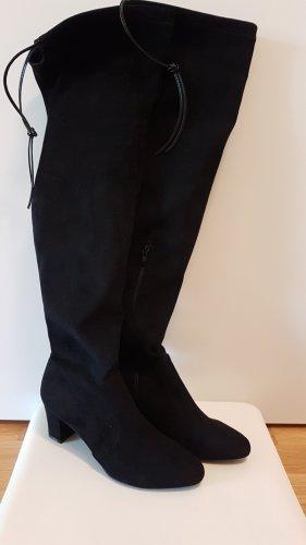 Lascana Kniehoge laarzen zwart