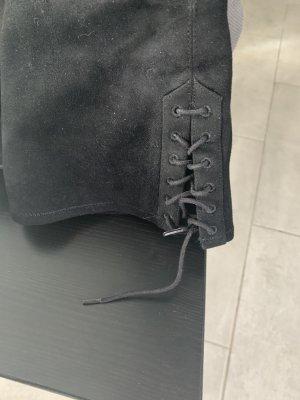 H&M Overknees black