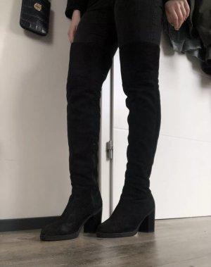 Public Desire Kniehoge laarzen zwart