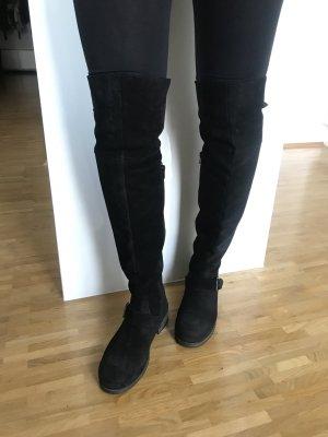 Overknees - schwarz