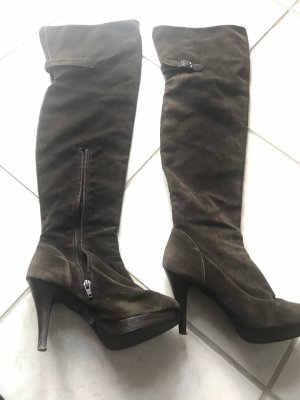 3 Suisses Overknees dark brown