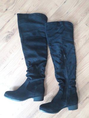 Stiefelparadies Overknees black