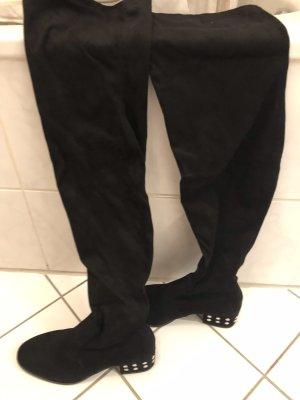 Asos Overknees black
