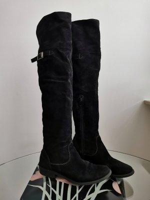 fashletics by Tamaris Botas sobre la rodilla negro Viscosa
