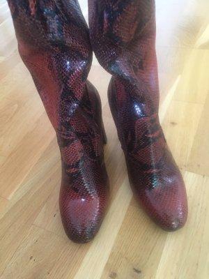 Anna Field Cuissarde brun rouge
