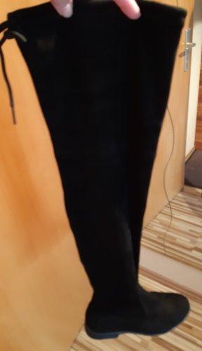 Jenny Fairy Kniehoge laarzen zwart