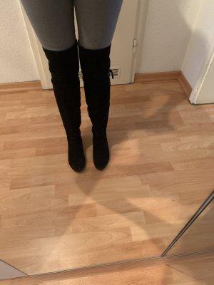 Tamaris Stivale cuissard nero