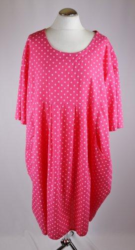 Made in Italy vestido de globo multicolor Algodón