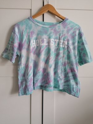 Hollister Koszulka typu batik jasny fiolet-jasnoniebieski