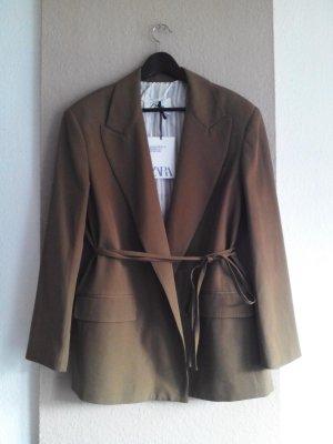 Oversize Blazer aus 76% Wolle, Campaing Collection, Grösse L, neu