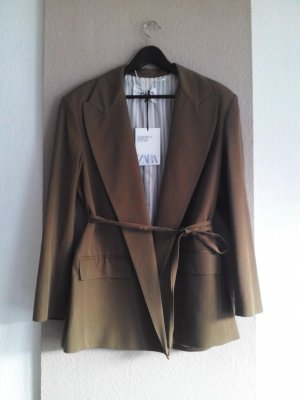 Oversize Blazer aus 76% Wolle, Campaing Collection, Grösse M, neu