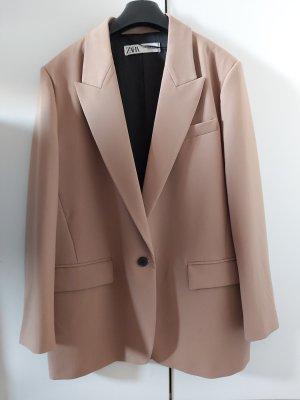 Zara Boyfriend blazer beige-camel