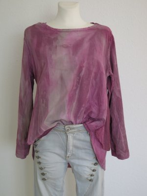 Oversized Blouse multicolored lyocell