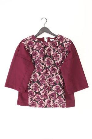 Oversize-Bluse Größe 36 mit Blumenmuster 3/4 Ärmel lila
