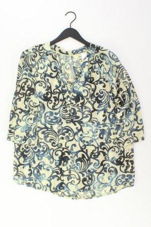 Oversize-Bluse Größe L 3/4 Ärmel gelb