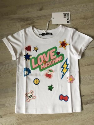 Love Moschino Oversized Shirt multicolored viscose