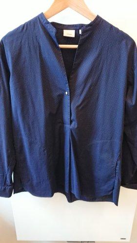 Caliban Oversized Blouse dark blue