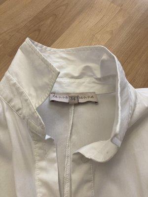Oversize Blusenhemd white