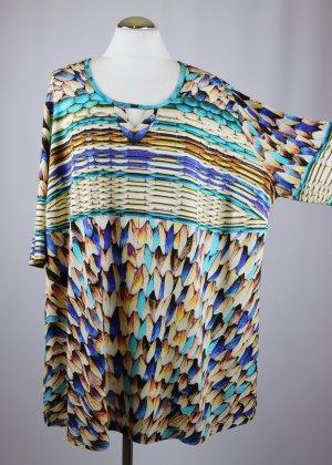 Sempre Piu Camisa holgada multicolor tejido mezclado