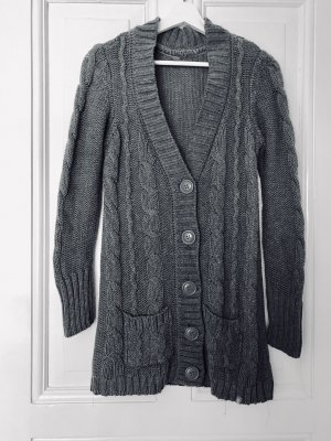 edc by Esprit Knitted Coat grey