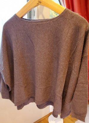 Zara Cashmere Jumper grey-silver-colored cashmere