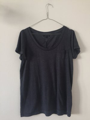 Oversize Damenshirt von Tommy Hilfiger Gr. XS dunkelblau