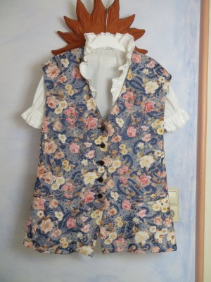 Vintage Traditional Vest multicolored