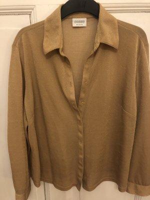 Oversize golden Bluse Vintage 80's