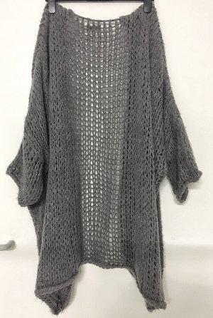 Carla Giannini Knitted Coat grey