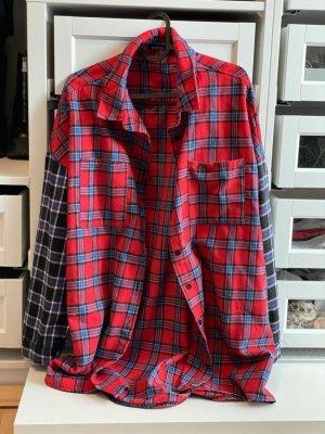 Bohoo Houthakkershemd veelkleurig