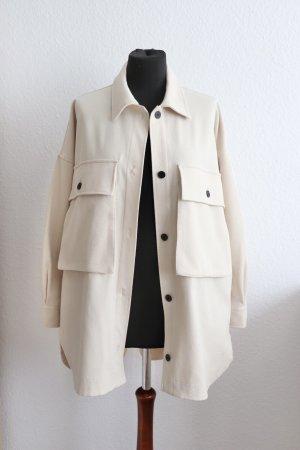 Oversize Hemd Jacke Sachet von Zara Worker Jaket Größe M L mit Taschen