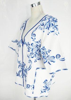 Oversize Jacke Bauwolljacke Kimono Cape Poncho