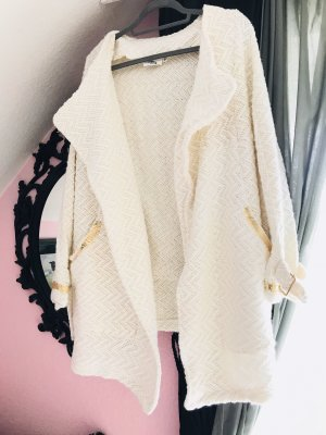 Cotton Candy Oversized Jacket natural white-gold-colored