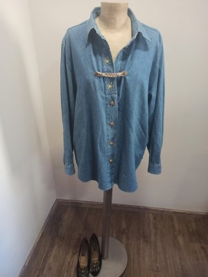 Vintage Denim Shirt multicolored cotton