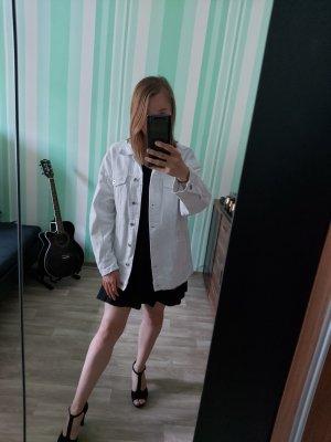 Zara Denim Jacket white