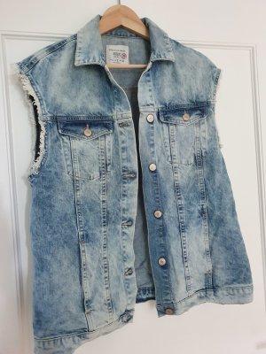 oversize Jeansweste