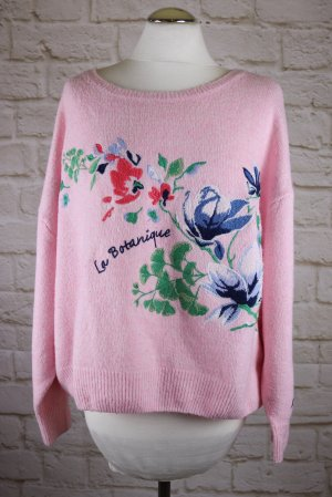 H&M L.O.G.G. Oversized Sweater multicolored mixture fibre