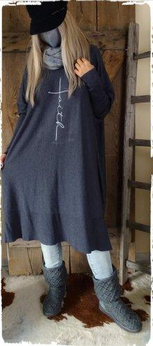 Jersey holgados gris oscuro-gris antracita