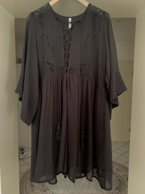 Oversize Kleid Schwarz