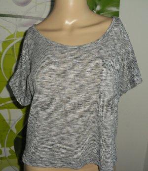 Kontatto Camicia oversize bianco-nero