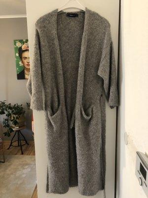 Oversize lange Strickjacke Zara