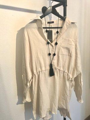 Linen Blouse natural white linen